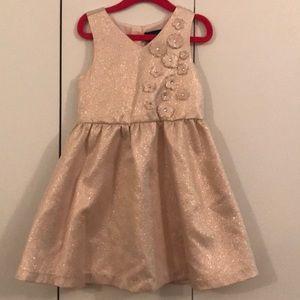Pink Metallic Party Dress